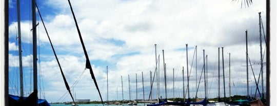 La Mariana Sailing Club is one of Favorite Local Kine Hawaii.