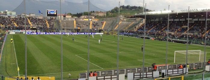 Stadio Atleti Azzurri d'Italia is one of Locais salvos de ANDREA.