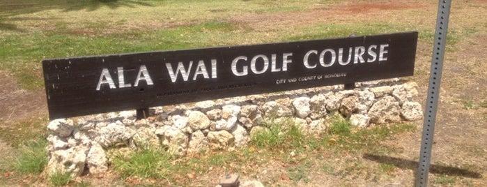 Ala Wai Golf Course is one of Oahu.