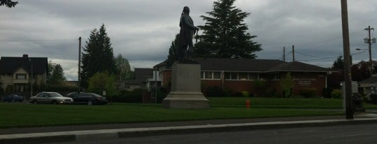 George Washington Statue is one of Oregon - The Beaver State (1/2).