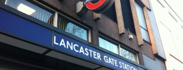 Lancaster Gate London Underground Station is one of London eats/drinks/shopping/stays.