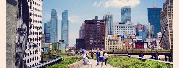 High Line is one of New York IV.