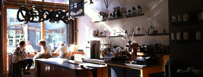 Four Barrel Coffee is one of San Fran for TH.