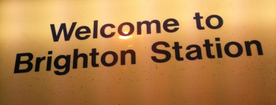 Brighton Railway Station (BTN) is one of You calling me a train spotter?.