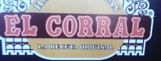Hamburguesas El Corral is one of Posti che sono piaciuti a Sebastian.