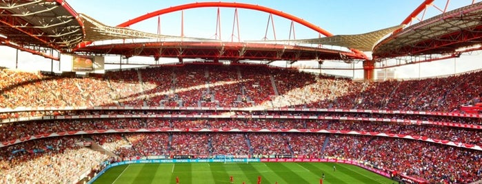 Estádio do Sport Lisboa e Benfica is one of Soccer Stadiums.