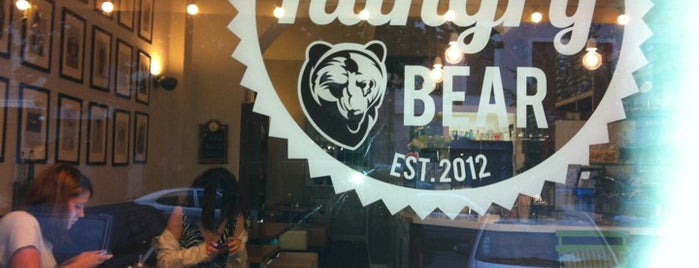 The Hungry Bear is one of Berlin, baby!.