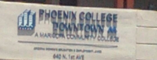 Phoenix College Downtown is one of Places in Phoenix Az.