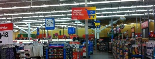Walmart Supercenter is one of My List.