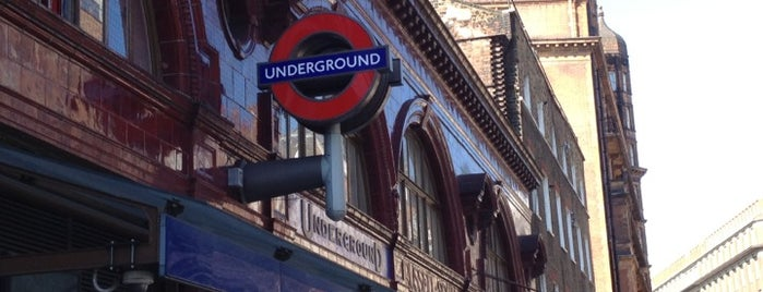 Russell Square London Underground Station is one of London.