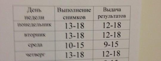 Флюорографическая станция is one of Татьяна : понравившиеся места.