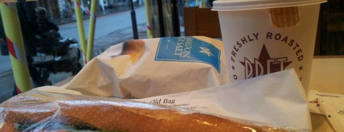 Pret A Manger is one of Lana in London 2013.