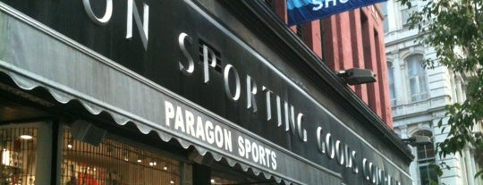 Paragon Sports is one of NY 2.