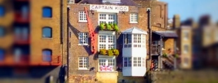Captain Kidd is one of Best of London.