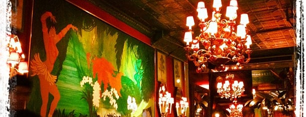 Chez Josephine is one of NYC Restaurants 3.