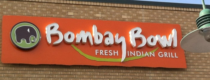 Bombay Bowl is one of Meatless Monday Restaurants.