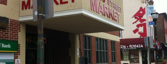 Cross Street Market is one of the great baltimore checkin.