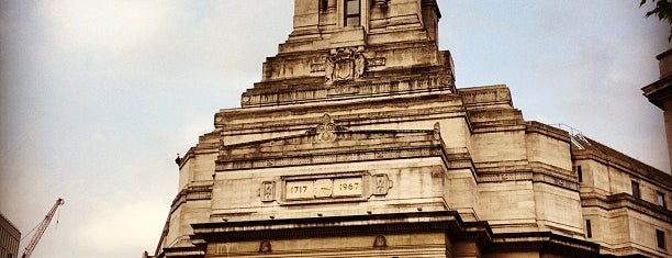 Freemasons' Hall is one of London.