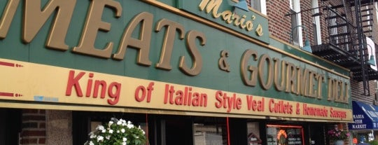 Mario's Meats is one of New York.