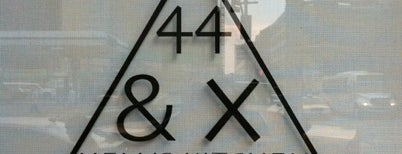 44 & X is one of RESTAURANTS TO VISIT IN NYC 🍝🍴🍩🍷.