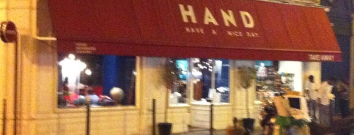 H.A.N.D (Have A Nice Day) is one of Paris - Restaurants.