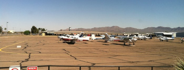 Ryan Airfield (RYN) is one of places to visit in tucson, az.
