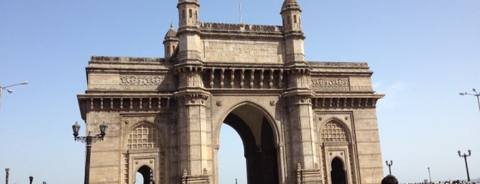 Gateway of India is one of Mumbai.