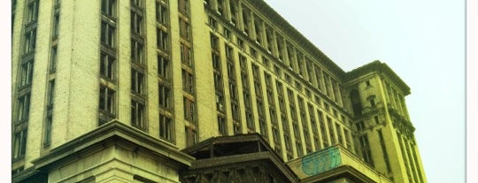 Michigan Central Station is one of Detroit #4sqCities.