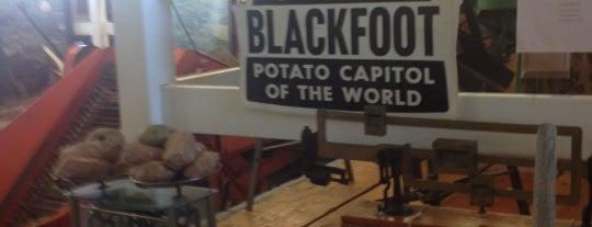 Idaho Potato Museum is one of Wierd-Places.