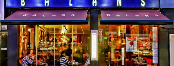Balans Soho Society is one of My London.