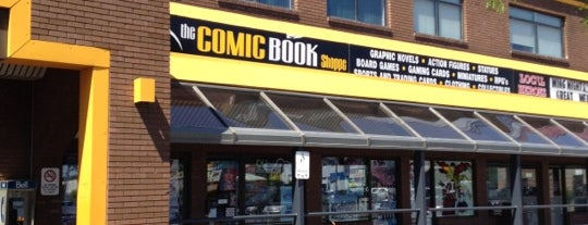 The Comic Book Shoppe is one of Denis's Liked Places.