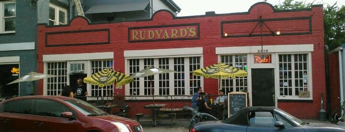 Rudyard's British Pub is one of When in Houston.