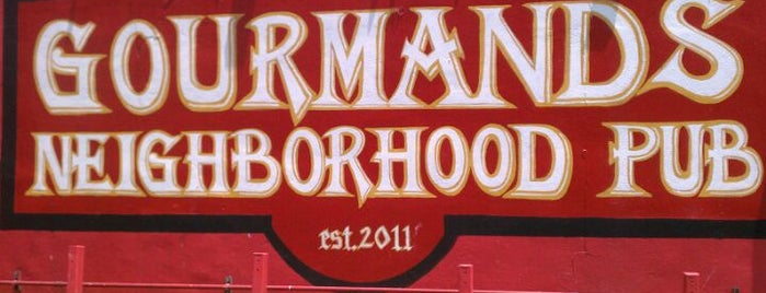 Gourmands Neighborhood Pub is one of The 38 Essential Austin Restaurants, July 2012.