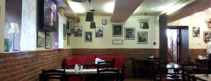01 Кафе is one of Покушай на Новослободской.