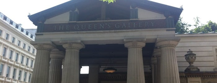 The Queen's Gallery is one of London Essentials.