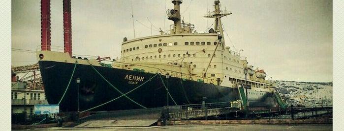 Ледокол «Ленин» is one of MRMNSK.
