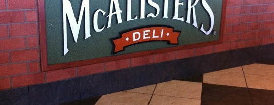 McAlister's Deli is one of Food stop.