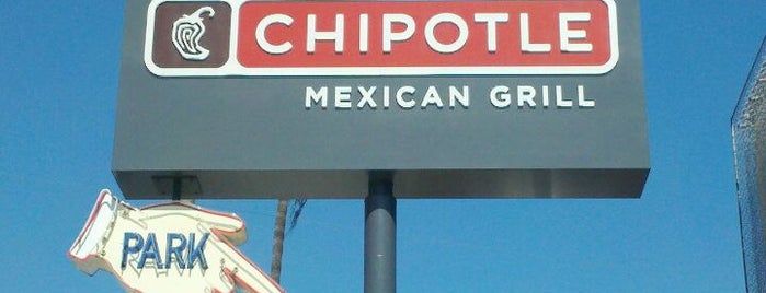 Chipotle Mexican Grill is one of US18: Los Angeles.