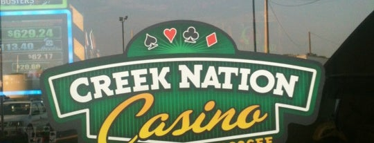 Creek Nation Casino Muscogee is one of Matt's Liked Places.