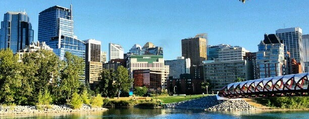 Prince's Island Park is one of Calgary.