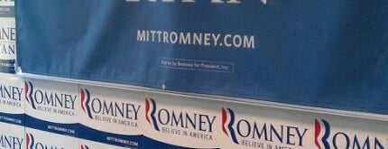 Virginia Romney Campaign HQ is one of Favorite.