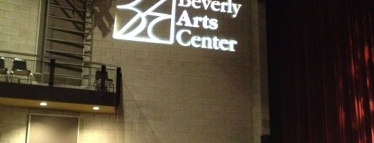 Beverly Arts Center is one of Chicago food.