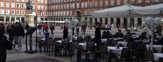 Plaza Mayor is one of The Best Of Madrid.