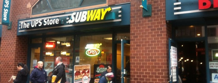 Subway is one of Earl of Sandwich 10X (NY).