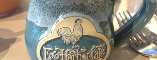 Egg Harbor Cafe is one of Lugares favoritos de David.