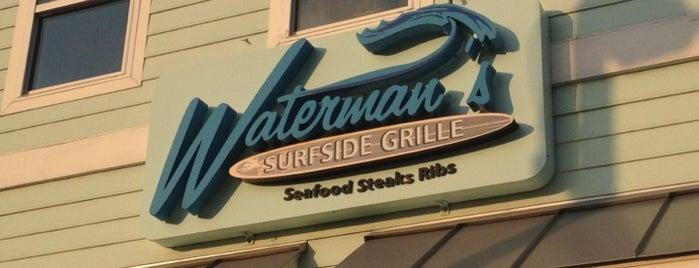 Waterman's Surfside Grille is one of Must-visit Bars in Virginia Beach.
