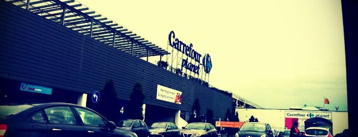Carrefour hypermarché / Carrefour hypermarkt is one of Posti che sono piaciuti a Anthony.