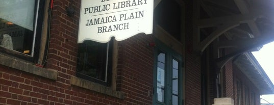 Boston Public Library - Jamaica Plain Branch is one of Museum of Science Boston Community Solar System.