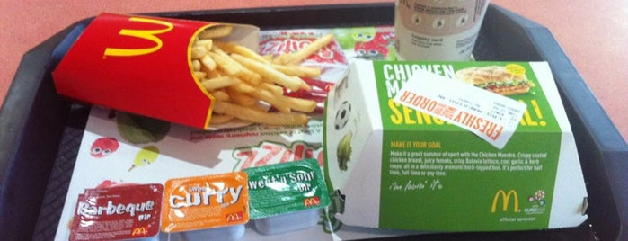 McDonald's is one of Wimbledon Good Food Guide.