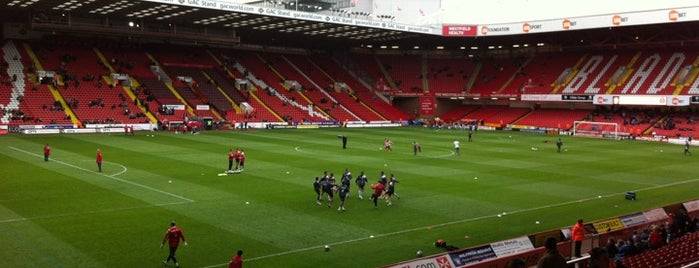 Bramall Lane is one of Soccer Stadiums.